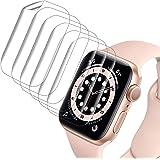VASG [8 Unidades] Protector Pantalla Compatible con Apple Watch Series 6 / Series 5 / Series SE 40mm Transparente HD Suave de