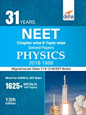 31 Years NEET Chapter-wise & Topic-wise Solved Papers Physics (2018-1988)