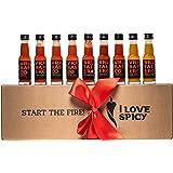 I LOVE SPICY Start the Fire Geschenkdoos Hete Saus (Pak van 9 x 20 ml) Heetheid 1-6/5