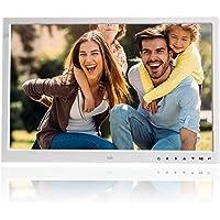 """Garsent Digital Bildrahmen, 17"""" HDMI Hohe Auflösung Fotorahmen mit Foto/Musik/Video Player Multi Funktions mit…"""