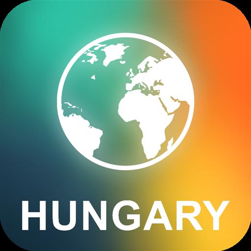 Ungarn Offline Karte