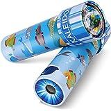 iKeelo Classic Tin caleidoscoop, set van 2 educatieve caleidoscoop speelgoed met metalen behuizing, verjaardagscadeau voor jo
