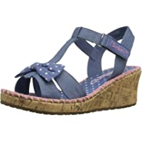 Skechers Tikis-Dots-n-Dazzle, Heels Sandals Bambina