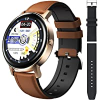 SANAG Smartwatch Women's with Body Temperature Measure Fitness Tracker with Heart Rate Sleep Monitor Calories Pedometer…