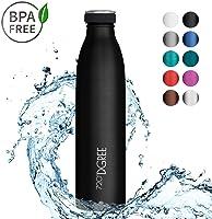 "720°DGREE Borraccia Termica ""milkyBottle"" – 350ml, 500ml, 750ml, 1000ml | Bottiglia Isotermica Acciaio Inox | Senza BPA"