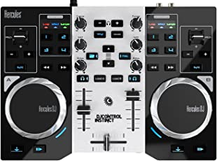 Hercules DJ Instinct S Series 4780846 2-Channels Controller (Black)