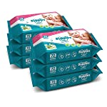 Supples Baby Wet Wipes with Aloe Vera and Vitamin E, 72 Wipes/Pack, (Pack of 6)