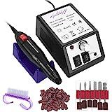 SPTHTHHPY Limetta Elettrica per Unghie Professionale, Macchina per Manicure Pedicure Kit perLimare Unghia, Portatile Elettron