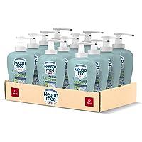 Neutromed Detergente Mani Liquido Nutriente & Fresco, Sapone Mani Acqua di Cocco, 12 pezzi x 300 ml