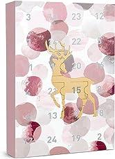 """SIX """"Weihnachten Schmuck 24-teilig Adventskalender Elch Hirsch Geschenke Überraschungen Adventszeit Xmas Ohrringe Ketten Ringe Armbänder"""