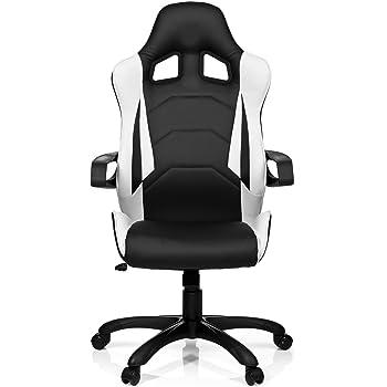 Hjh Office 621836 Gaming Chefsessel Racer Pro I Kunstleder Schwarz