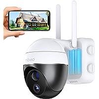 15000mAh Batteria Ricaricabile Telecamera Wifi Interno / Esterno, Mibao 1080P Videocamera Senza Fili , Impermeabile IP65…