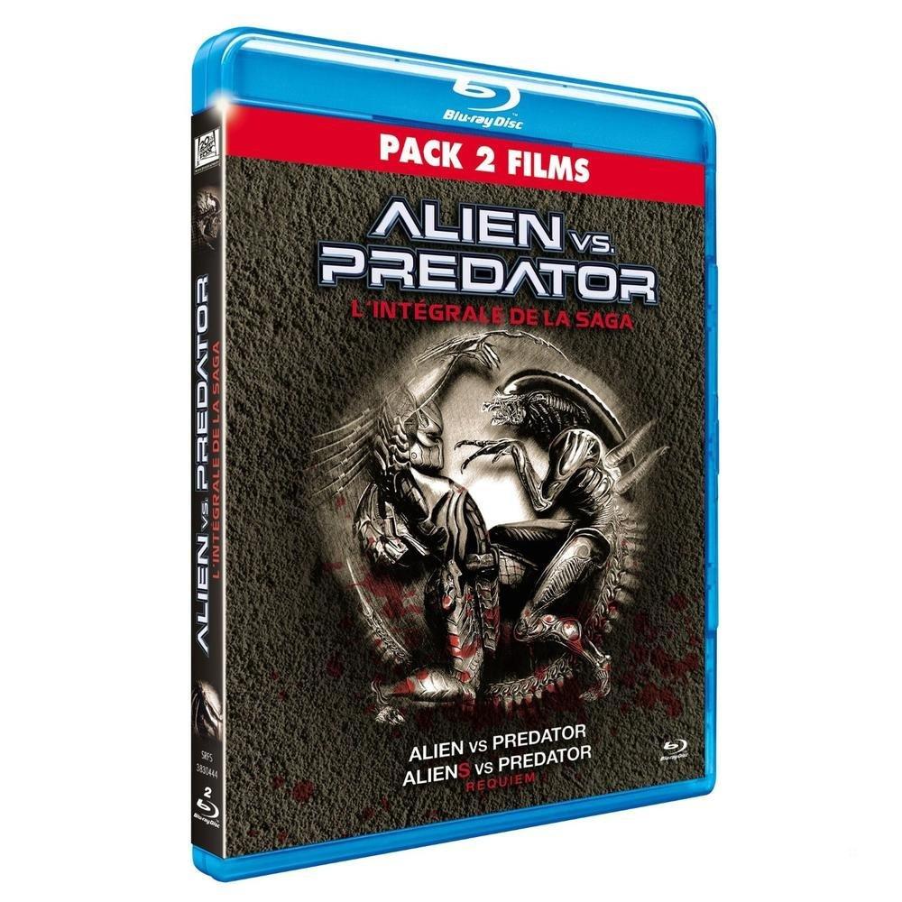 Coffret alien vs predator : alien vs predator ; aliens vs predator : requiem [Edizione: Francia]