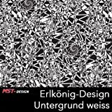 MST-Design Wassertransferdruck WTD CD 607-MS Erlkönig/Getarnt 1 m 100 cm Breite Film/Wassertransferdruckfilm WTP Water Transfer Printing Hydrographics