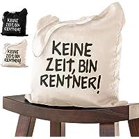 Abschiedsgeschenk RENTNER Tasche 38x42 zur Pensionierung als Dankeschön bei Verabschiedung, Kollegen Kollegin zum…