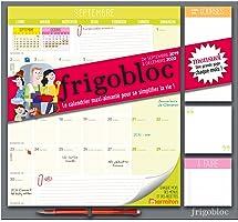 Frigobloc 2020 Mensuel - Calendrier d'organisation familiale par mois (de sept 2019 à décembre 2020): Le calendrier...