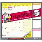 Frigobloc 2020 Mensuel - Calendrier d'organisation familiale par mois : Le calendrier maxi-aimanté pour se simplifer la...