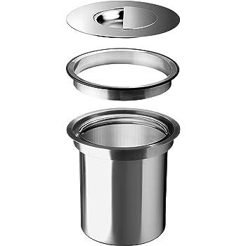 Wesco Ergomaster 5 L - Aluminium - Einbau in Arbeitsplatte