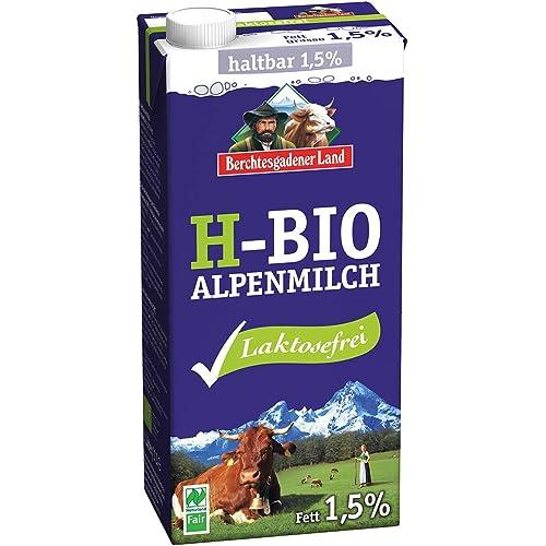 Berchtesgadener Land Latte Parzialmente Scremato Uht Delattosato 1.5% Di Grassi - 1 ml