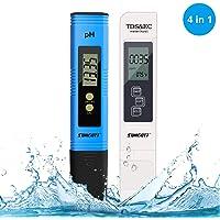 Misuratore Ph, PH Tester, misuratore ph acqua 4 in 1 PH/TDS&EC Temperatura Tester Misuratore Digital