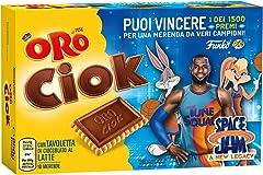 Oro Ciok Edizione Limitata Space Jam 2, Tavoletta di Cioccolato al Latte, 250g