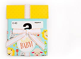 Amazon.de Geschenkkarte in Geschenkkuvert (Hallo Baby) - mit kostenloser Lieferung per Post