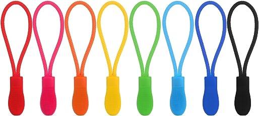 40 Stück Zipper Pulls Reißverschluss Verlängerung Reißverschluss Tag Ersatz, 8 Farben