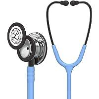 3M Littmann Stetoscopio per il Monitoraggio Classic III, Testina con Finitura a Specchio, Tubo Auricolare Azzurro cielo…
