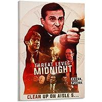 GHRF Poster décoratif Threat Level Midnight Movie - Pour salon, chambre à coucher - 20 x 30 cm