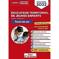 Concours Éducateur territorial de jeunes enfants - Tout-en-un - Catégorie A: Concours 2022 (2021)