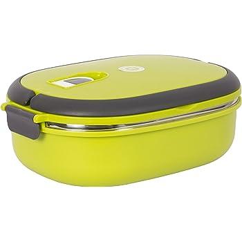 Ohanna Oval Shaped Homio Green Lunch Box (900 ml)