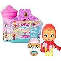 Cry Babies - Magic Tears Casetta Castello Mini Bambola a Sorpresa da Collezionare con Vestitini in Tessuto, Accessori e…