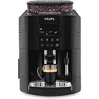 Krups Essential Machine à Café à Grain Machine à Café Broyeur Grain Cafetière Expresso Ecran LCD Nettoyage Automatique…