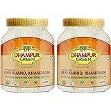 Dhampure Speciality Organic Khandsari Sugar, Desi Khand, Chemical & Sulphur Free Semi Crystaline Sugar, No Preservatives, No