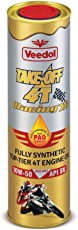 Veedol Take Off 4T 10W-50 SN 100% Fully Synthetic Engine Oil for Bikes and Scooters in Tin Can Pack (1 LTR)