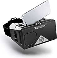 Merge AR/VR Goggles - Augmented and Virtual Reality Headset, 300 Family-Friendly Experiences, Works with iPhone or Android (