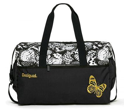 Sac Desigual 17WXRW27 Bols Yoga Gym Bag Metamorphosis 1000 Blanco