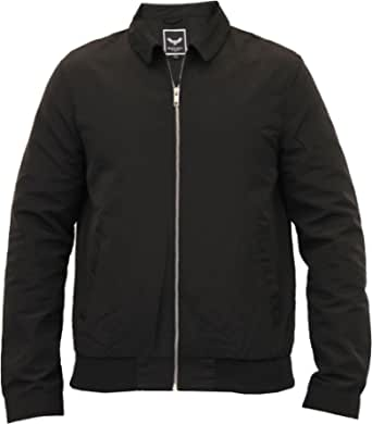 Brave Soul Mens Windbreaker Hooded Jacket Coat Mesh Lined