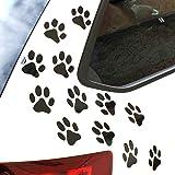 Katze Dog Love Herz Pfote Hundeaufkleber Hundepfote Katzenpfote Cat Love Tierpfoten Pf/ötchen   Aufkleber Sticker f/ür Auto Wohnmobil Pink Hund PrintAttack P069 Laptop 10cm x 12cm