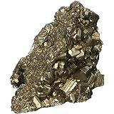 ExcLent Pirita Natural Calcopirita Cristales Minerales Decoración De Piedras Preciosas De Oro Adorno 50-80G