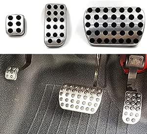 3 Stück Set Zubehör Edelstahl Pedal Für W639 Vito Viano 2003 2017 V Klasse V260 W447 2014 2017 Auto