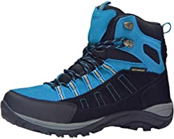 riemot Waterproof Walking Boots for Mens Womens,Ladies Ankle Support Hiking Boots,Outdoor Hiking Trekking Climbing Fishing Sh