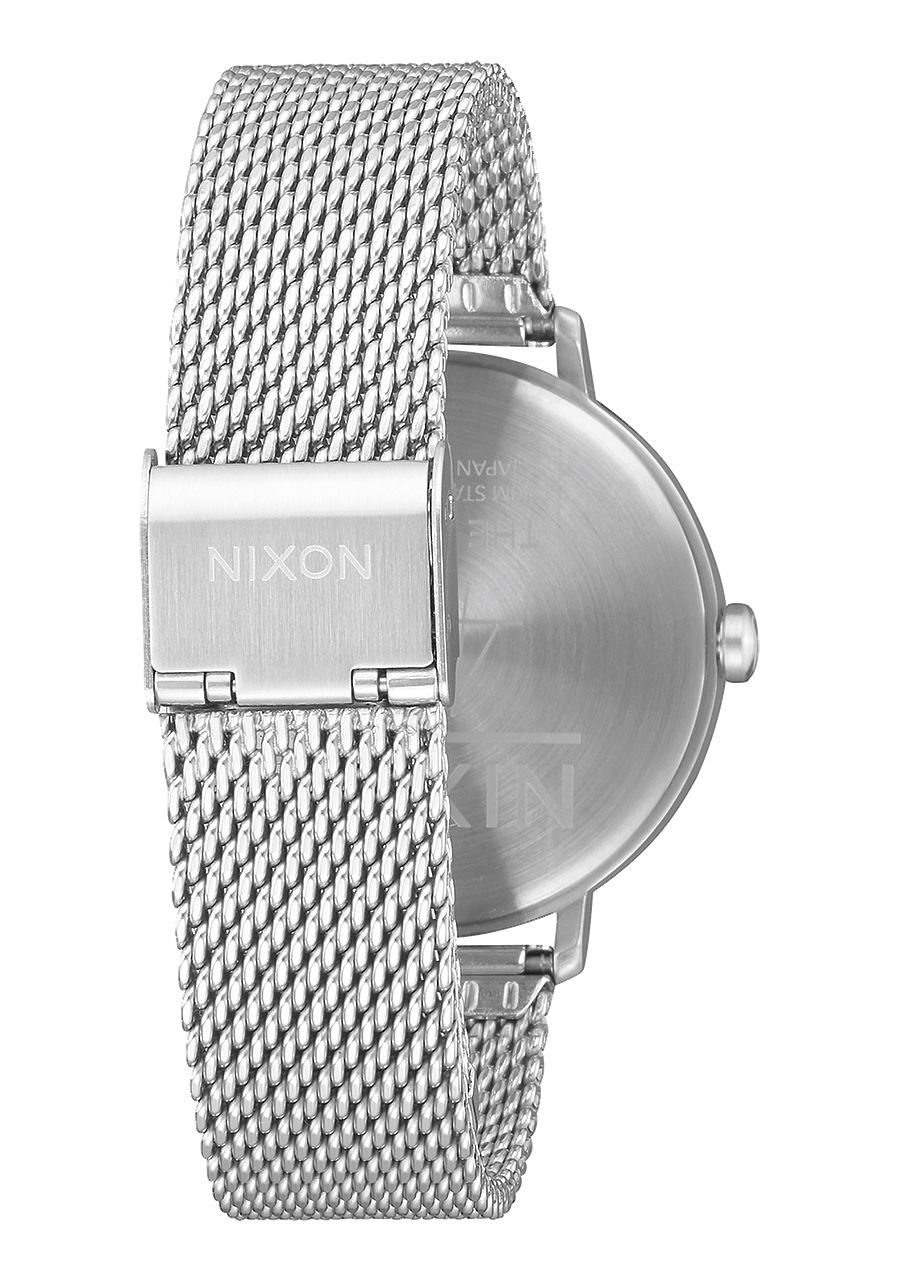 Nixon-Damen-Analog-Quarz-Smart-Watch-Armbanduhr-mit-Edelstahl-Armband-A1238-2971-00