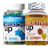 Weider Pack Gummies Melatonin + Multivit 640 ml