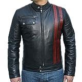 Classyak Men's Fashion Black Heaven Moto Jacket
