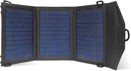 Instapark® 10 Watt Solar Panel Portable Solar Charger with Dual USB Ports for iPhone, iPad & all other USB Compatible Devices