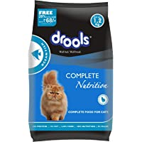 Drools Adult(+1 year) Dry Cat Food, Ocean Fish, 1.2kg (20% Extra Free Inside*Limited Stock)