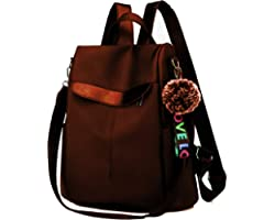 PAGWIN Cute Style Female Student Oxford Waterproof Anti Thief School Bags Backpack Girls Daily Backpack Sling Bag (PG-0117, G