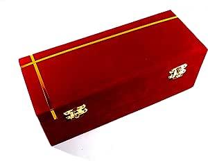 Girija Red Velvet Bangle Box