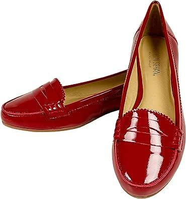 Shirin Sehan, Mocassini donna Rosso rosso